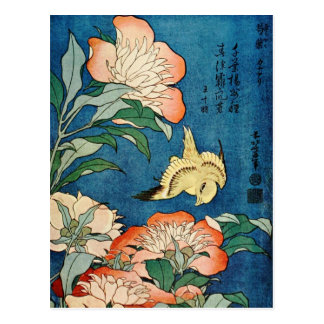 ASIAN PEONIES postcard