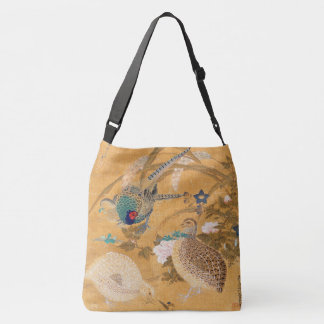 Asian Pheasant Birds Wildlife Animal Tote Bag