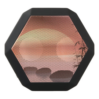 Asian steps to the sun - 3D render Black Bluetooth Speaker