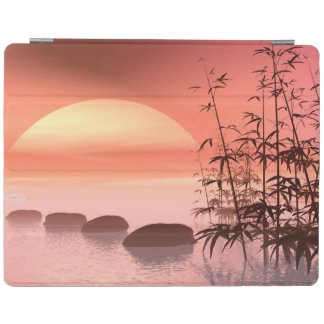 Asian steps to the sun - 3D render iPad Cover