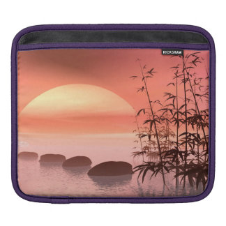 Asian steps to the sun - 3D render iPad Sleeve