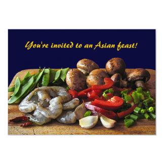Asian Stir Fry Invitation