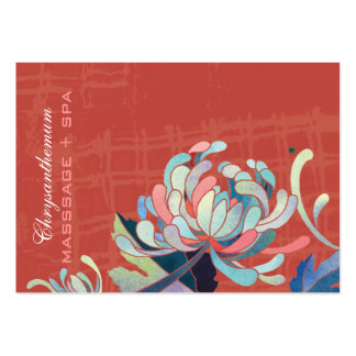 Asian Style Mum Red Business Appointment Cards Pack Of Chubby Business Cards