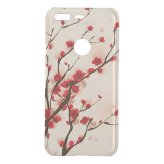 Asian Style Painting Plum Blossom in Spring Uncommon Google Pixel Case