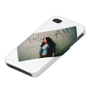 Asian Woman Power Iphone 4 Case