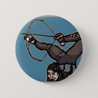 AsianFeetArcher 6 Cm Round Badge