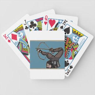 AsianFeetArcher Bicycle Playing Cards