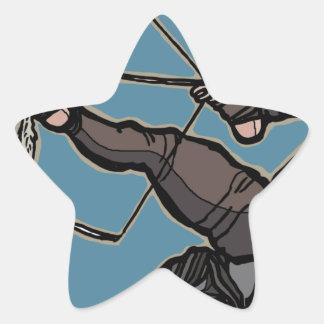 AsianFeetArcher Star Sticker