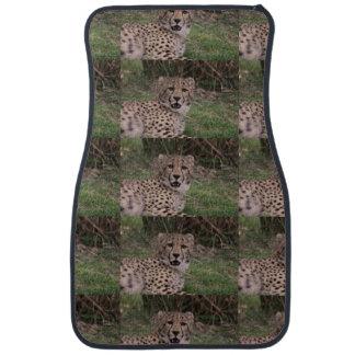 Asiatic Cheetah Car Mat