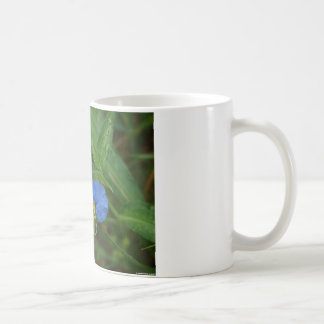 Asiatic Dayflower Blue WIldflower Apparel & Gifts Coffee Mug
