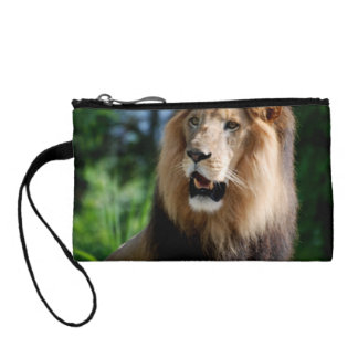 Asiatic Lion of Iran Change Purse