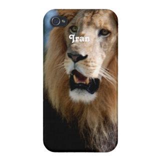 Asiatic Lion of Iran iPhone 4/4S Cases