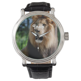 Asiatic Lion of Iran Wrist Watches