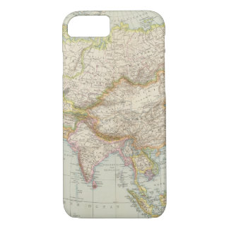Asien - Map of Asia iPhone 7 Case