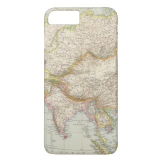 Asien - Map of Asia iPhone 7 Plus Case