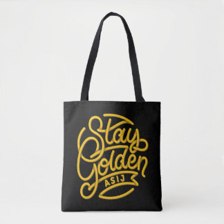 ASIJ Stay Golden Tote