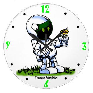 Asimo Robot Large Clock