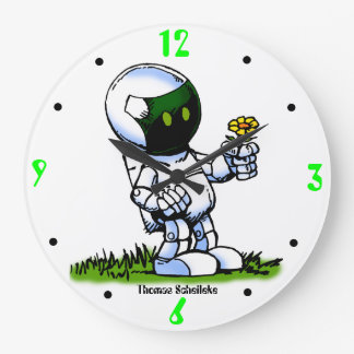 Asimo Robot Wallclocks