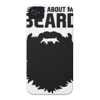Ask About My Beard Case-Mate iPhone 4 Cases