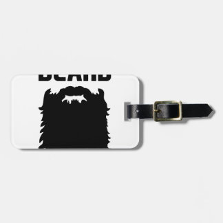 Ask About My Beard Luggage Tag