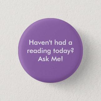 Ask Me! 3 Cm Round Badge