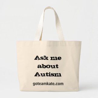 Ask Me About Autism Tote Bag