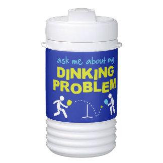 Ask Me About My Dinking Pickleball Water Jug Drinks Cooler