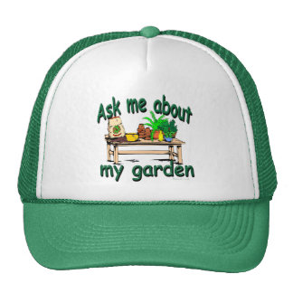 Ask Me About My Garden Cap