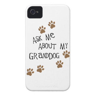 Ask Me About My Granddog Case-Mate iPhone 4 Cases