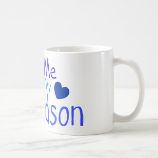 Ask me about my Grandson! Coffee Mug