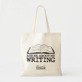 Ask Me About My Writing (Bag)