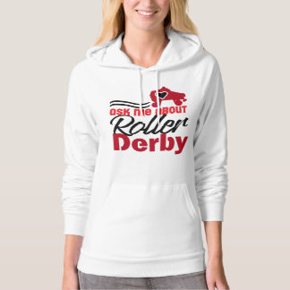 Ask me about Roller Derby, Roller Skating Hoodie