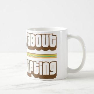 Ask Me About Weight Lifting Basic White Mug