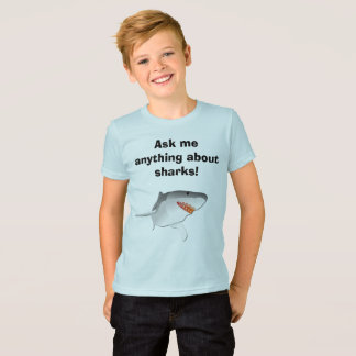 Ask me anything about sharks! T-Shirt