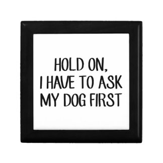 Ask My Dog First Gift Box