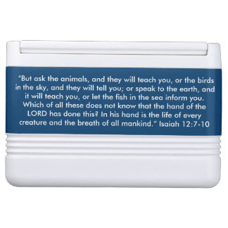 """""""Ask the Animals"""" Igloo Scripture 12 can Cooler"""