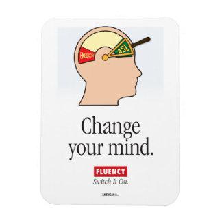 ASL Classroom. Change your mind magnet. Magnet