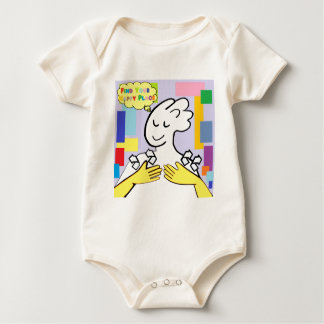 ASL Find Your Happy Place Baby Bodysuit