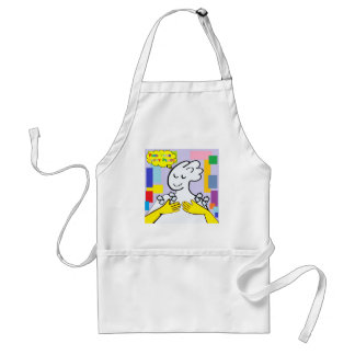 ASL Find Your Happy Place Standard Apron