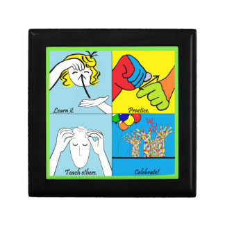 ASL Four Steps to Success Gift Box