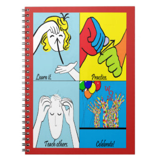 ASL Four Steps to Success Notebook