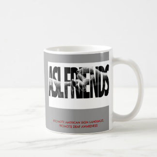 ASL FRIENDS GROUP JAVA COFFEE MUG