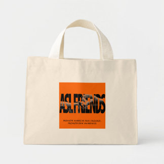 ASL FRIENDS TOTE  TO PROMOTE - Customized