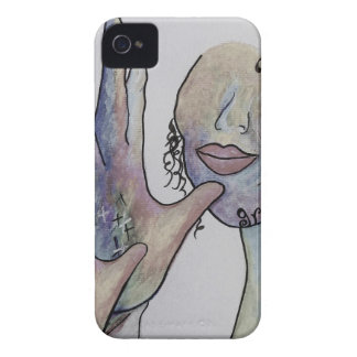 ASL Grandmother in Denim Colors iPhone 4 Case