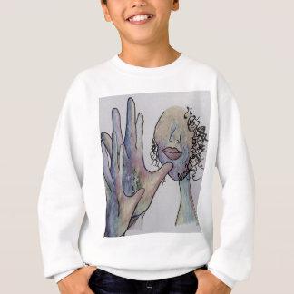 ASL Grandmother in Denim Colors Sweatshirt