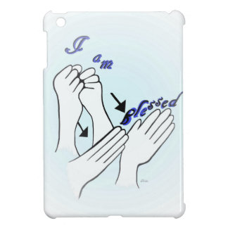 ASL I Am Blessed Case For The iPad Mini