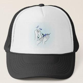 ASL I Am Blessed Trucker Hat