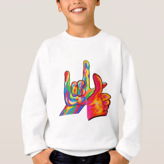 ASL I Love You and It's All Good Sweatshirt