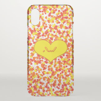 ASL-I Love You with Heart by Shirley Taylor iPhone X Case