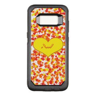 ASL-I Love You with Heart by Shirley Taylor OtterBox Commuter Samsung Galaxy S8 Case